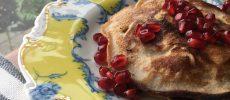 Decadent Apple Fritter Pancakes, Gluten Free